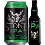 Stone IPA can and bottle