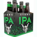 Stone IPA bottle pack of 6